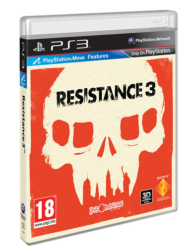 R3 PS3 3D PackShot