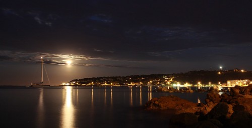 "Moonrise on Cap d'Antibes • <a style=""font-size:0.8em;"" href=""http://www.flickr.com/photos/60339472@N05/5731092849/"" target=""_blank"">View on Flickr</a>"
