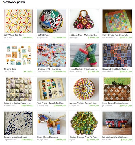 patchwork power, cool patchwork items, recycled quilt, mamaka mills