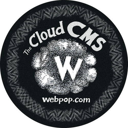 Webpop Floor Stickers for MAD2011