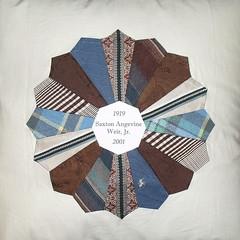 Grandpa's Ties - Quilt Pillow