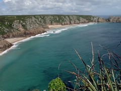 What a view (tvordj) Tags: blue seascape beach water cornwall turquoise coastline minack oceanscape challengeyouwinner cywinner beautifulworldchallenges yourock1st topmedalwinner agcgmegachallengewinner storybookwinner pregamewinner