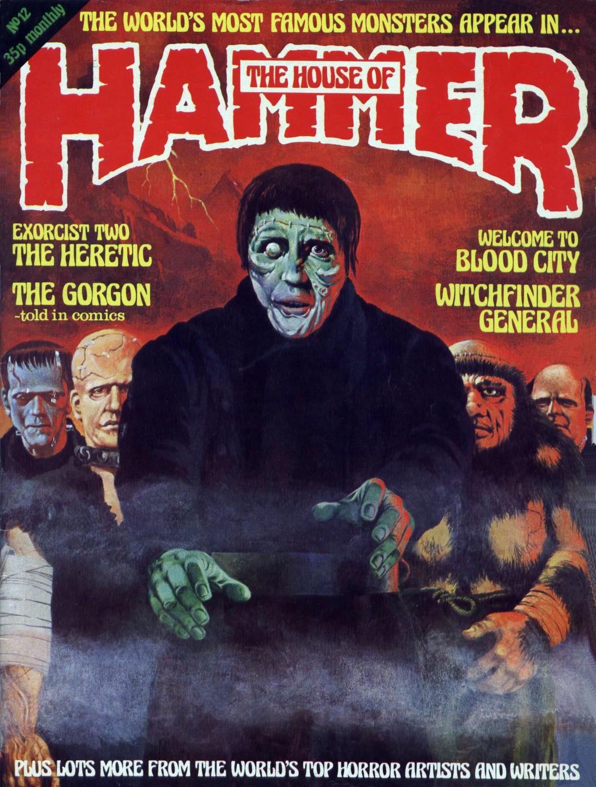 The House Of Hammer monster brains: house of hammer magazine