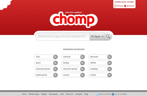 5787295185 c6fc30165a Search android apps using Chomp