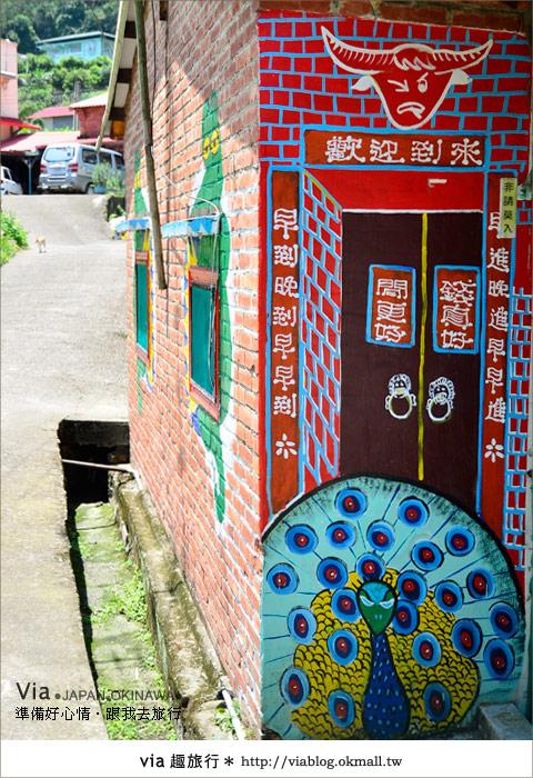 【彩繪客家村】驚豔,彩繪村!新竹竹東鎮軟橋社區尋彩趣8