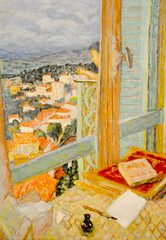 Pierre Bonnard - The Window, 1925 at Tate Modern Art Gallery London England (mbell1975) Tags: england london art window museum modern painting gallery museu tate pierre musée musee m gb impressionism british museo impression impressionist muzeum 1925 the bonnard müze museumuseum