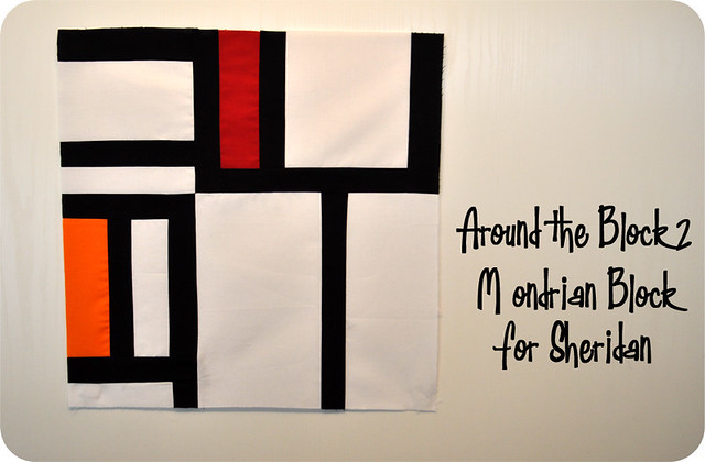 Around the Block 2 - Sheridan's Mondrian