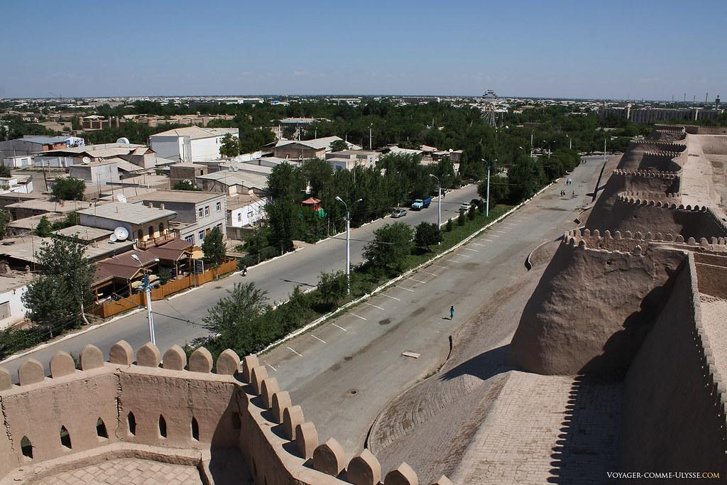 Remparts d'Itchan Kala, Khiva