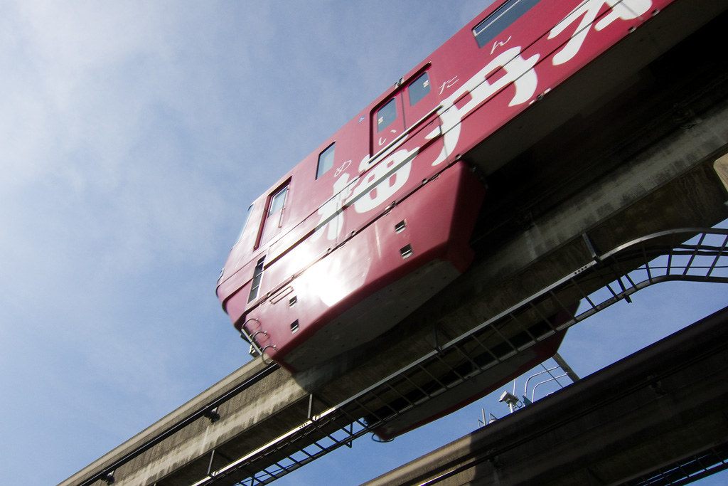 Osaka Monorail overhead