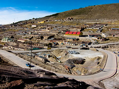 Bolivia S90-100601-137 (Kelly Cheng) Tags: travel mountain color colour tourism southamerica horizontal landscape daylight colorful mine day outdoor bolivia nobody nopeople colourful copyspace potosi traveldestinations cerrorico pickbykc