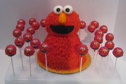 Elmo by Cake Maniac