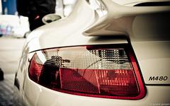 porsche gt3 m480 (andre.j.) Tags: red white race lights porsche rennen adac gt3 24h nordschleife nurburgring 24stunden m480 nrburgring201124h
