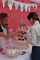 Cupcakes at the Strawberry Fair