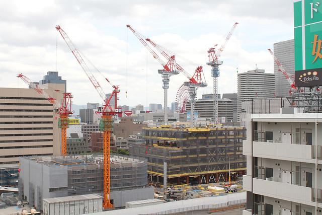 大阪梅田の再開発をじっくりと定点観測してみるブログ