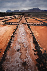 Farewell to the salt pans (blinkingidiot) Tags: del salt lanzarote salinas foreground workings janubio salinasdeljanubio mygearandme mygearandmepremium mygearandmebronze mygearandmesilver mygearandmegold