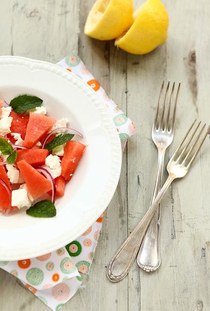 feta watermeloen