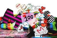 100 (emolish) Tags: hello cute colors demolish mom photography heart picture s m 100 2011