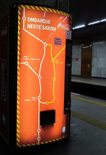 Coca-Cola Underground Metro Machine Rio de Janeiro by roitberg