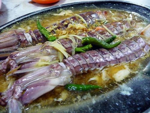 Gee Seng, Bukit Tambun - giant mantis prawns