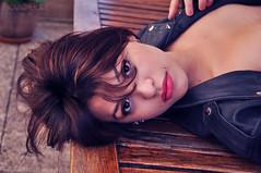 * (Flavie Eidel) Tags: girl rock mouth hair glamour eyes mode couleur sensuel cuir undercut