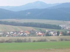 Slovakia, April (ancoras) Tags: houses mountains photography europe fields slovakia tatra