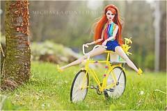 Erin (Michaela Unbehau Photography) Tags: fashion bike photography high doll fotografie erin s riding end envy mode royalty fahrrad michaela fahren puppen nuface unbehau