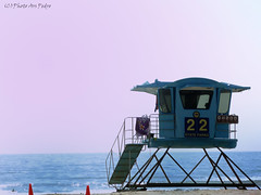 Lifeguard tower (Photo Ars Pedro) Tags: california tower beach lifeguard baywatch encinitas