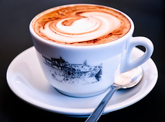 morning (LoomahPix) Tags: desenzano garda italy coffee cafe italiano cappuccino