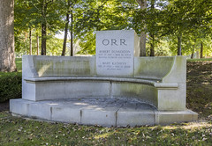 Robert D. Orr Gov. of Indiana (will139) Tags: govenor republican politician indiana indianapolisindiana crownhillcemetery cemeteries robertdorr