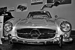 Wants vs. Needs (oybay) Tags: mercedesbenz mercedes benz gullwing car automobile silver blackandwhite barrettjackson barrett jackson autoshow carshow scottsdale arizona expensive twomilliondollars excessive elegant foreign german germany coolcar