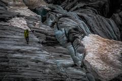 Errance Parmi les Glaces (Frdric Fossard) Tags: nature montagne glace glacier srac crevasse alpinisme alpiniste glacierdutour alpes hautesavoie massifdumontblanc france neige nv ambiance atmosphre texture