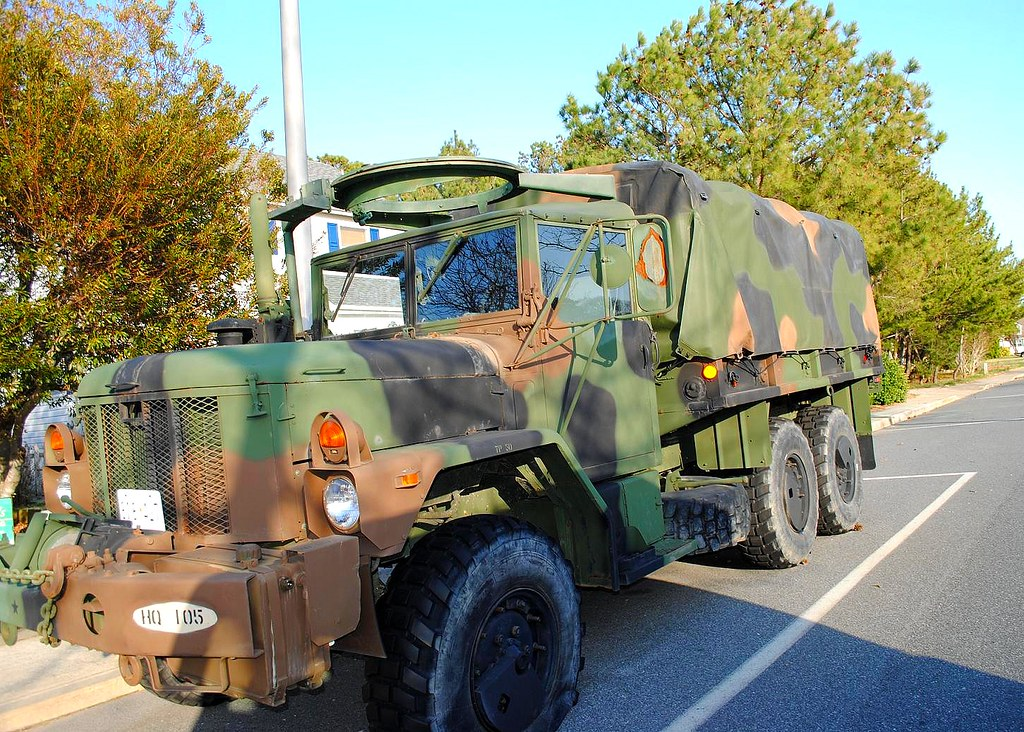 M35 - Duce & a half military truck.