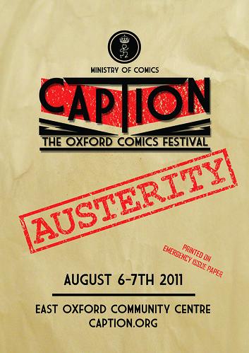 Austerity Caption Colour Flyer