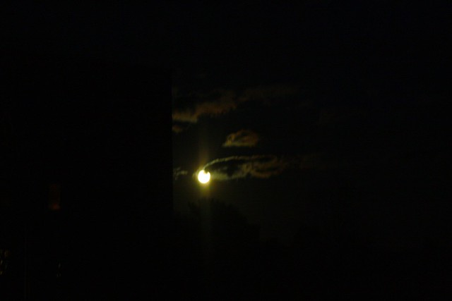 the super moon!