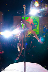 IMG_0039_stripper_JR (JOE RUSSO PHOTO) Tags: nyc women fineart blacklight countryclub thestandardhotel ryanmcginness lebain