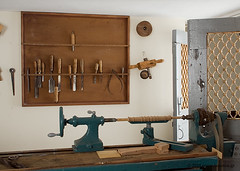 Museum milling machine - Τόρνος