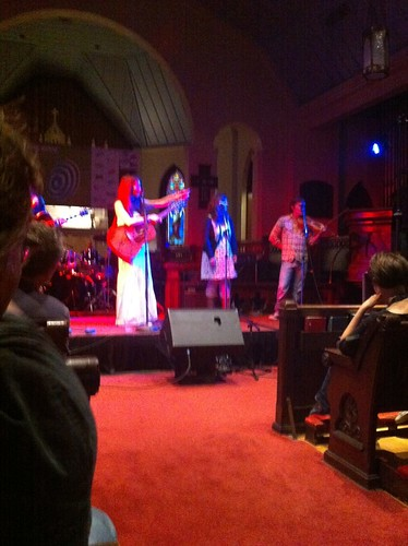 Erin McLaughlin at St. David's Sanctuary