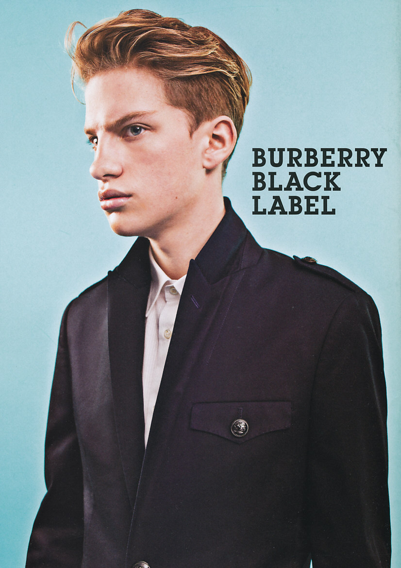 Nils B 5013_Burberry Black Label SS11(POPEYE768_2011_04)