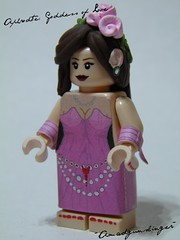 Aphrodite: Goddess of Love (~Amadgunslinger~) Tags: love lego fig goddess mini greece minifig aphrodite custom mythology