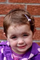 Smiler (ColinParte) Tags: girl smile cheeky ebony sadface