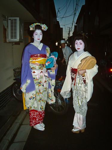 Maiko Terukoma y Geiko Ichisuzu