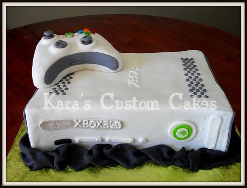 xbox 360 birthday cake