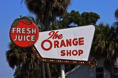 """Fresh Juice"" - The Orange Shop (skippys1229) Tags: sign canon rebel florida palmtrees 301 marioncounty citra coolsign freshjuice highway301 hwy301 55250mm ushighway301 march2011 citraflorida rebelt1i t1i canonrebelt1i citrafl signwitharrow northernmarioncounty mid20thcenturystylesign"