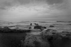 Marea (juanmatronic) Tags: mar agua bilbao bizkaia rocas marea cantabrico larrabasterra