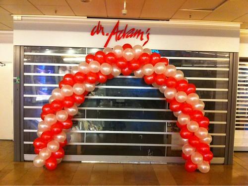 Ballonboog 6m dr. Adams Zuidplein Rotterdam