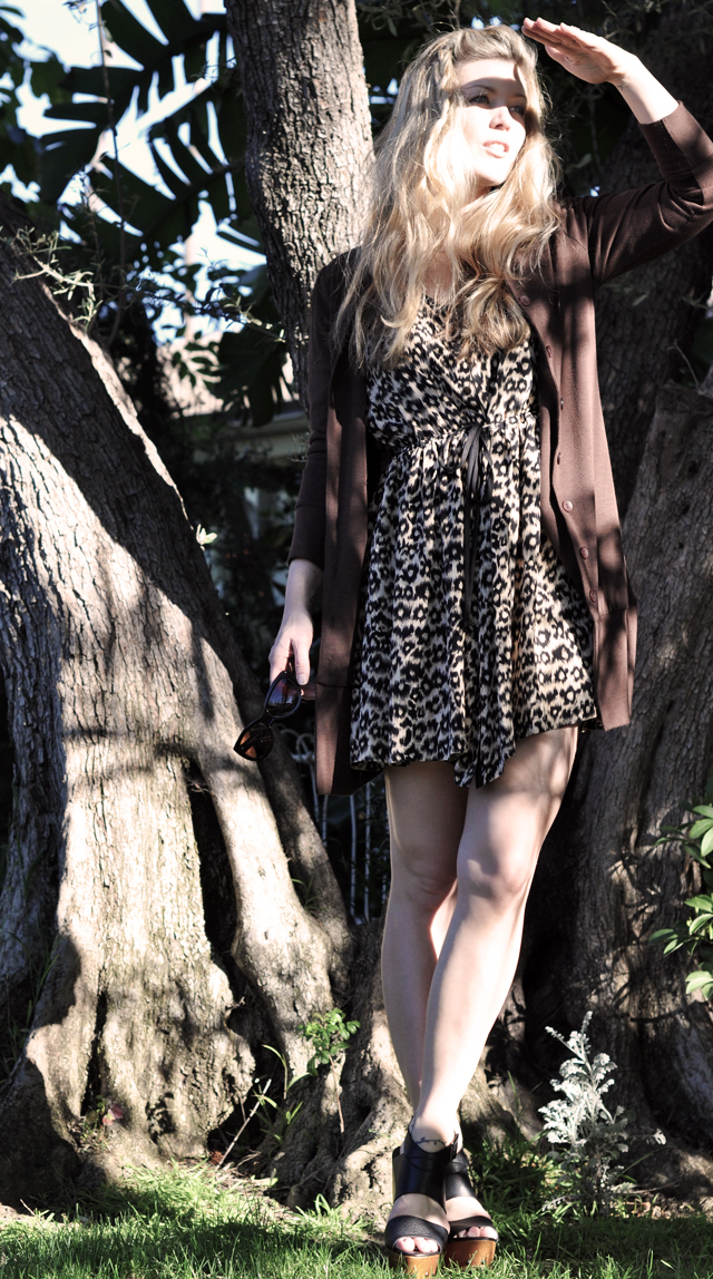 leopard dress sun in eyes vibrance 2