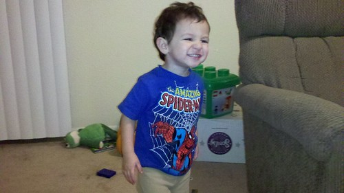 Logan Spiderman shirt