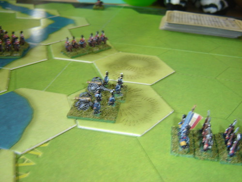 British cavalry repulsed
