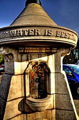 Best drink (Tony Shertila) Tags: england water liverpool europe drink britain stonework drinkingfountain hdr merseyside westderbyvillage temerance