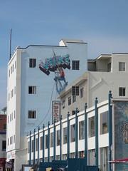 Los Angeles-Grafitti and things at Venice, Muscle and Santa Monica beaches. (DJLeekee) Tags: santa venice men beach birds america graffiti la los grafitti angeles fairground muscle graf fair monica doctor drugs shops kush a